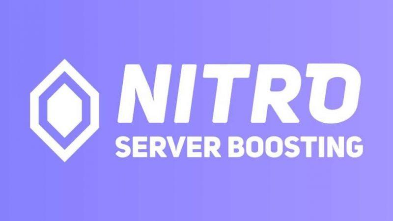 Discord : Nitro Server Booster